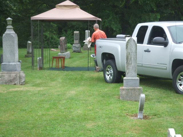 A summer funeral