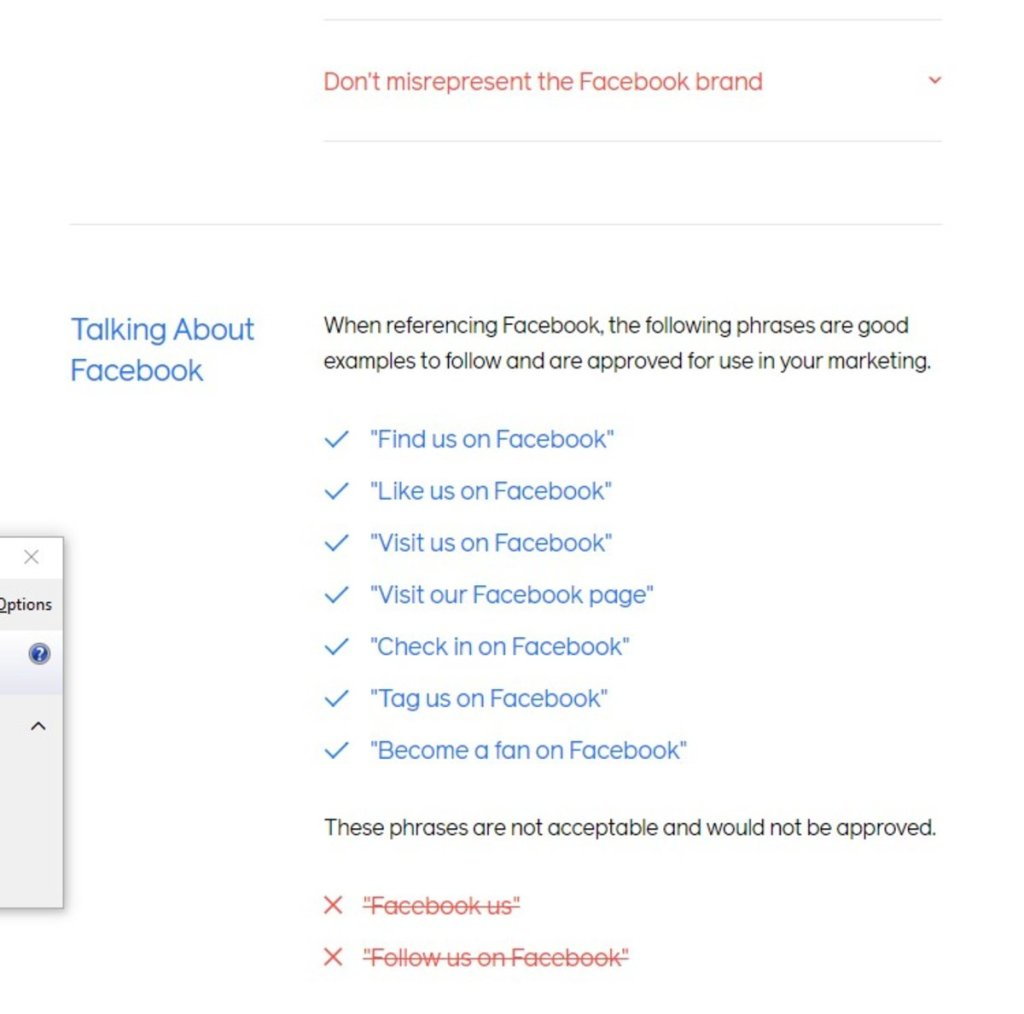To teach an effective Facebook call-to-action