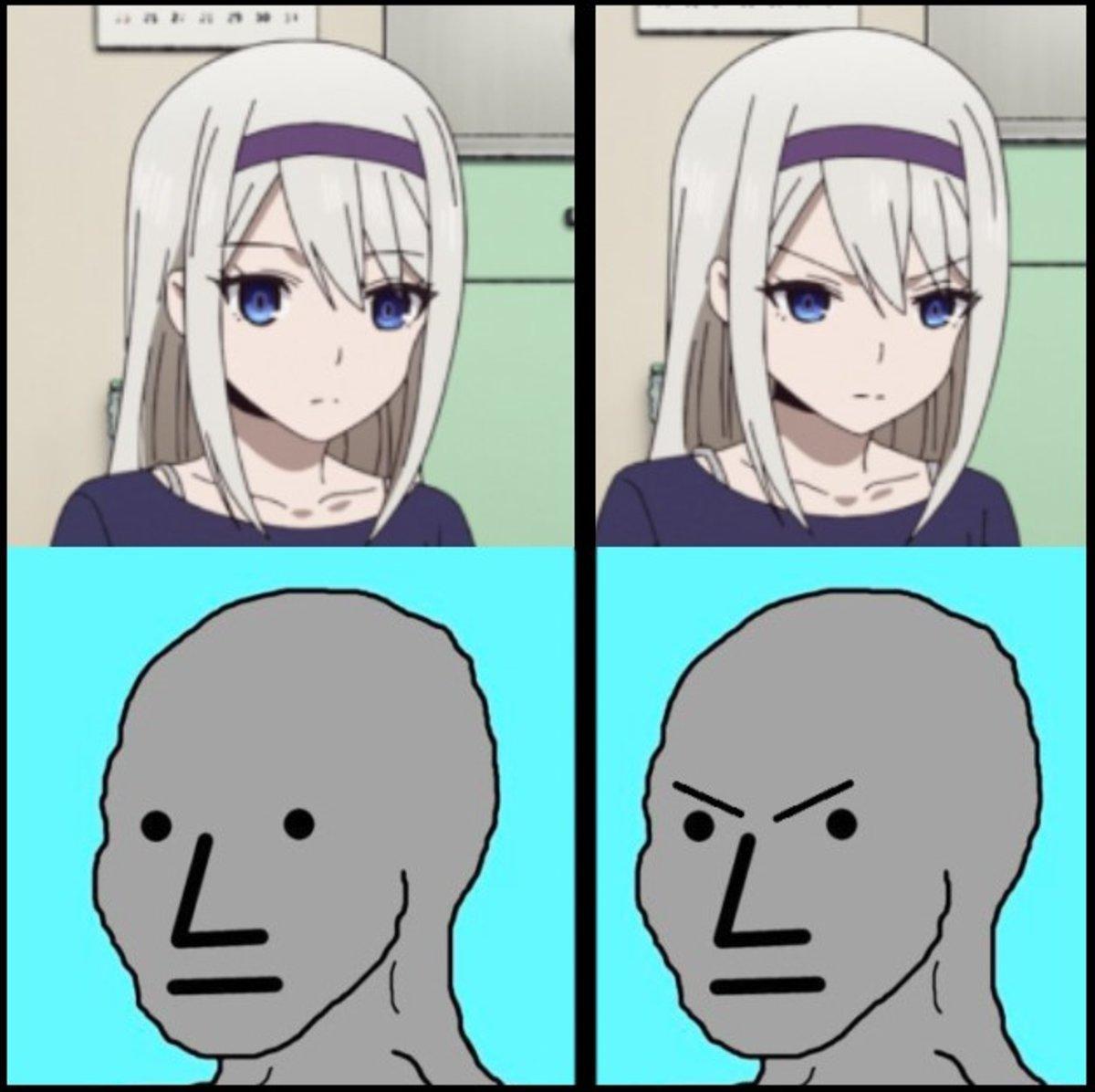 doomer girl meme 4k